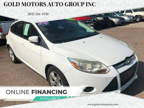 2013 Ford Focus for sale at Gold Motors Auto Group Inc in Tampa FL