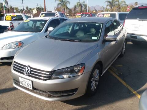 2014 Volkswagen Passat for sale at ZOOM CARS LLC in Sylmar CA