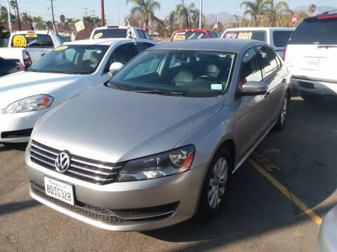 2014 Volkswagen Passat for sale at ZOOM CARS LLC in Sylmar CA