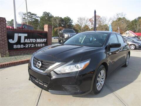2016 Nissan Altima for sale at J T Auto Group in Sanford NC