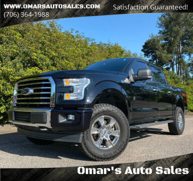 2017 Ford F-150 for sale at Omar's Auto Sales in Martinez GA