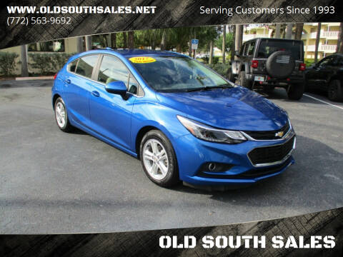 2017 Chevrolet Cruze for sale at OLD SOUTH SALES in Vero Beach FL