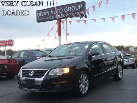 2010 Volkswagen Passat for sale at Divan Auto Group in Feasterville PA