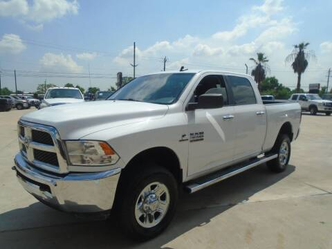 2017 RAM Ram Pickup 2500 for sale at Premier Foreign Domestic Cars in Houston TX