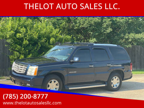 2005 Cadillac Escalade for sale at THELOT AUTO SALES LLC. in Lawrence KS