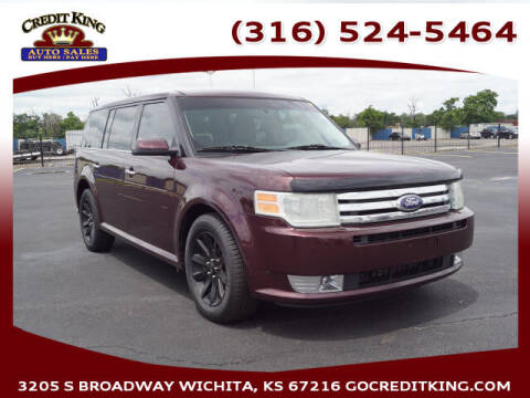 2011 Ford Flex for sale at Credit King Auto Sales in Wichita KS