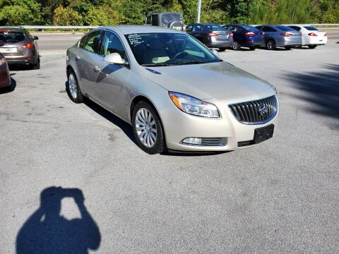 2012 Buick Regal for sale at DISCOUNT AUTO SALES in Johnson City TN
