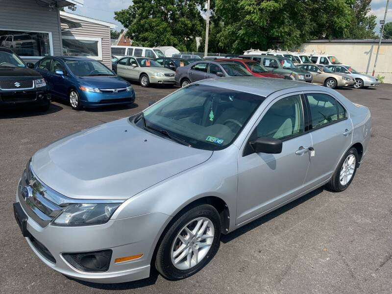 2012 Ford Fusion for sale at Masic Motors, Inc. in Harrisburg PA