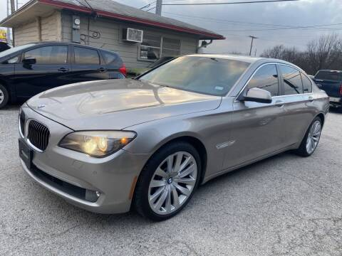 2012 BMW 7 Series for sale at Pary's Auto Sales in Garland TX