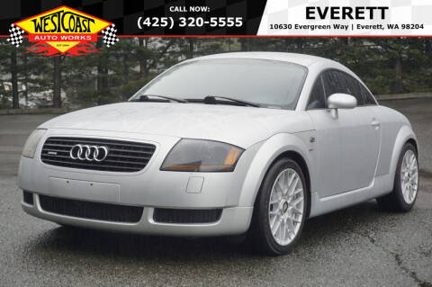 2000 Audi TT for sale at West Coast Auto Works in Edmonds WA