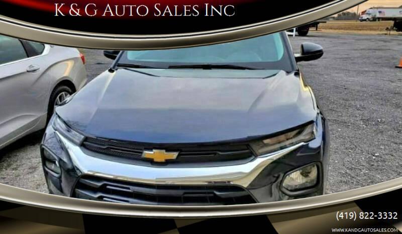 2021 Chevrolet TrailBlazer for sale at K & G Auto Sales Inc in Delta OH