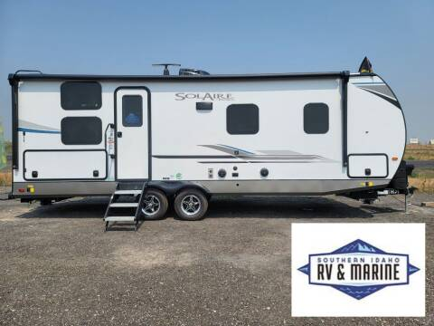2021 FOREST RIVER SOLAIRE 243BHS for sale at SOUTHERN IDAHO RV AND MARINE - New Trailers in Jerome ID