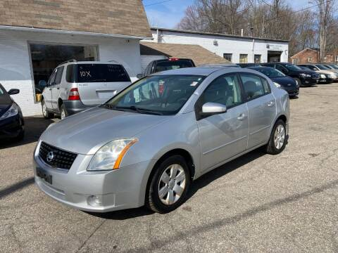 2009 Nissan Sentra for sale at ENFIELD STREET AUTO SALES in Enfield CT