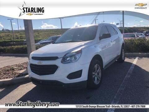 2016 Chevrolet Equinox for sale at Pedro @ Starling Chevrolet in Orlando FL
