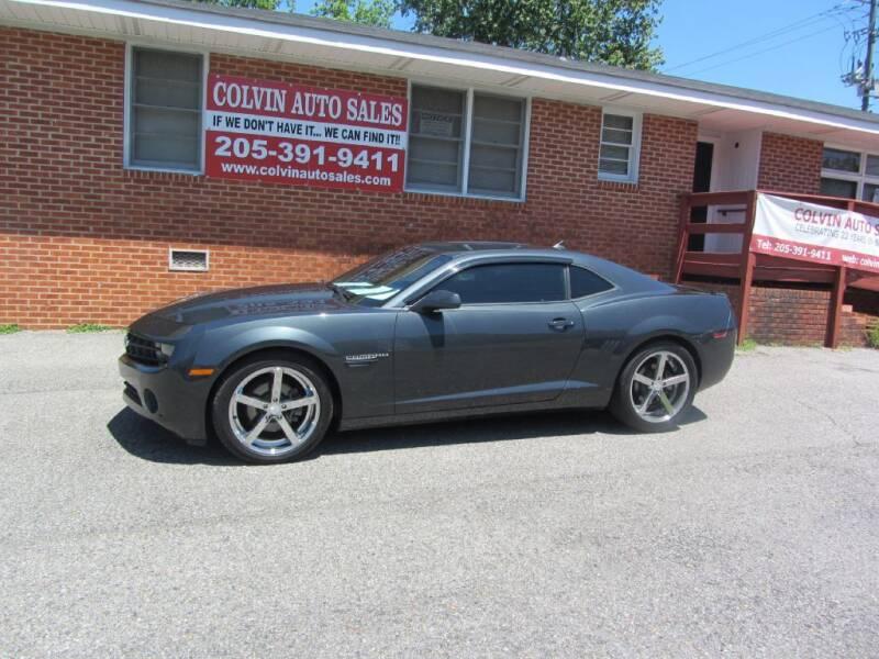 2013 Chevrolet Camaro for sale at Colvin Auto Sales in Tuscaloosa AL