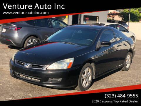 2006 Honda Accord for sale at Venture Auto Inc in South Gate CA