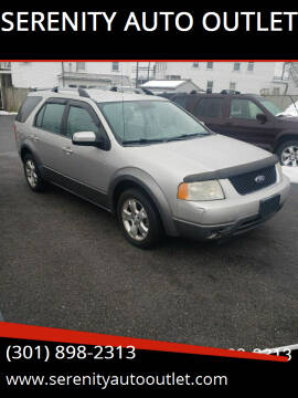 2007 Ford Freestyle for sale at SERENITY AUTO OUTLET in Frederick MD
