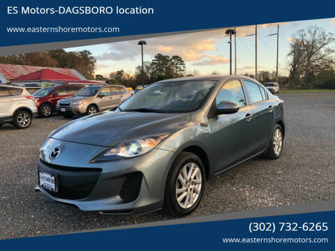 2012 Mazda MAZDA3 for sale at ES Motors-DAGSBORO location in Dagsboro DE