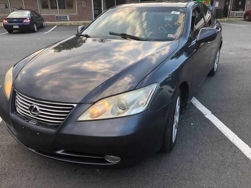 2007 Lexus ES 350 for sale at REGIONAL AUTO CENTER in Fredericksburg VA