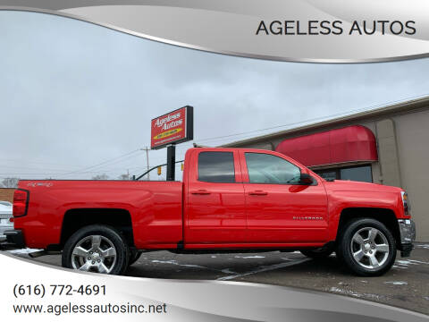 2017 Chevrolet Silverado 1500 for sale at Ageless Autos in Zeeland MI