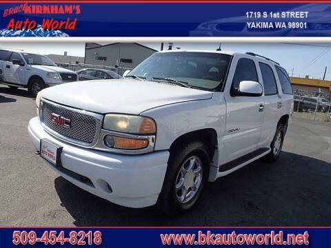 2004 GMC Yukon for sale at Bruce Kirkham Auto World in Yakima WA