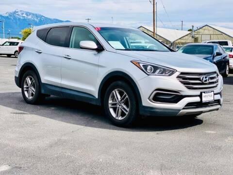 2017 Hyundai Santa Fe Sport for sale at INVICTUS MOTOR COMPANY in West Valley City UT