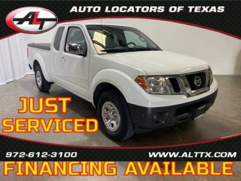 2016 Nissan Frontier for sale at AUTO LOCATORS OF TEXAS in Plano TX