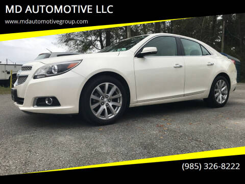 2013 Chevrolet Malibu for sale at MD AUTOMOTIVE LLC in Slidell LA