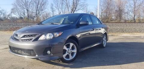 2012 Toyota Corolla for sale at Sinclair Auto Inc. in Pendleton IN