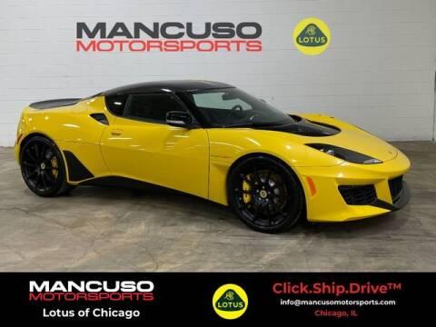 2021 Lotus Evora GT for sale at Mancuso Motorsports in Glenview IL
