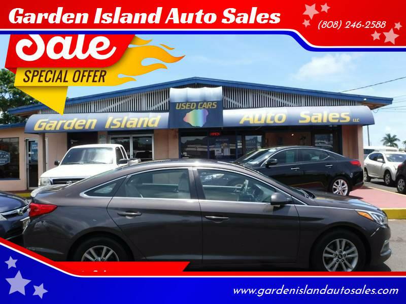 2015 Hyundai Sonata for sale at Garden Island Auto Sales in Lihue HI