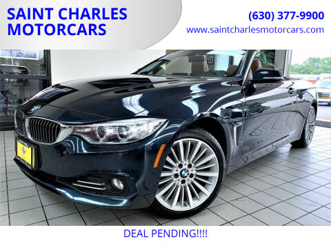 2015 BMW 4 Series for sale at SAINT CHARLES MOTORCARS in Saint Charles IL