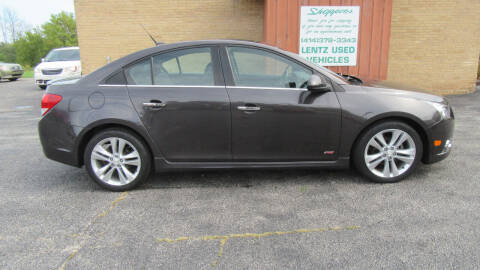 2014 Chevrolet Cruze for sale at LENTZ USED VEHICLES INC in Waldo WI