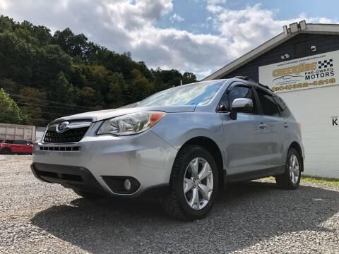 2014 Subaru Forester for sale at Creekside PreOwned Motors LLC in Morgantown WV