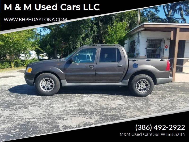 2005 Ford Explorer Sport Trac for sale at M & M Used Cars LLC in Daytona Beach FL