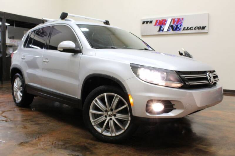 2012 Volkswagen Tiguan for sale at Driveline LLC in Jacksonville FL
