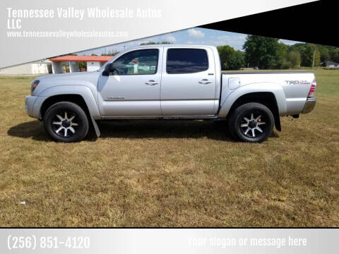 2010 Toyota Tacoma for sale at Tennessee Valley Wholesale Autos LLC in Huntsville AL