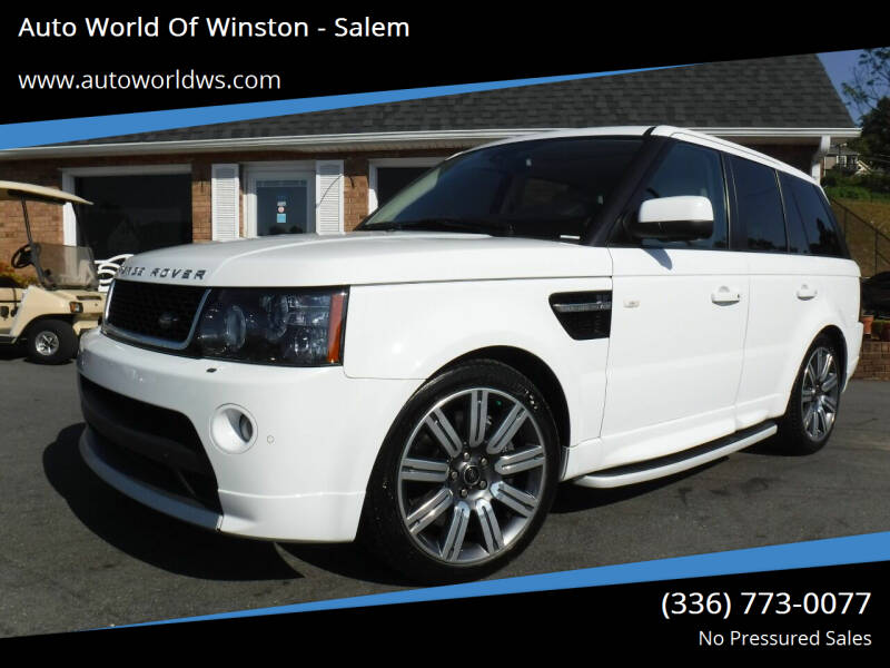 2013 Land Rover Range Rover Sport for sale at Auto World Of Winston - Salem in Winston Salem NC