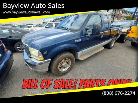 2002 Ford F-250 Super Duty for sale at Bayview Auto Sales in Waipahu HI