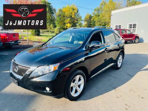 2010 Lexus RX 350 for sale at J & J MOTORS in New Milford CT