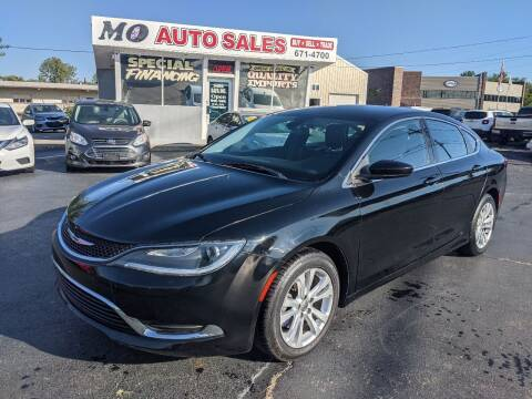 2015 Chrysler 200 for sale at Mo Auto Sales in Fairfield OH