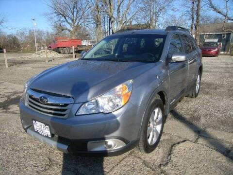 2010 Subaru Outback for sale at HALL OF FAME MOTORS in Rittman OH