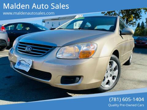 2008 Kia Spectra for sale at Malden Auto Sales in Malden MA