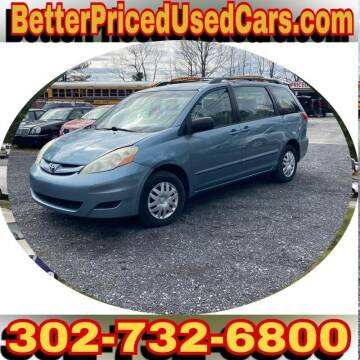 2006 Toyota Sienna for sale at Better Priced Used Cars in Frankford DE