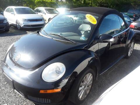 2009 Volkswagen New Beetle for sale at M & M Auto Brokers in Chantilly VA