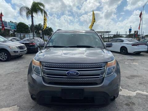 2011 Ford Explorer for sale at America Auto Wholesale Inc in Miami FL