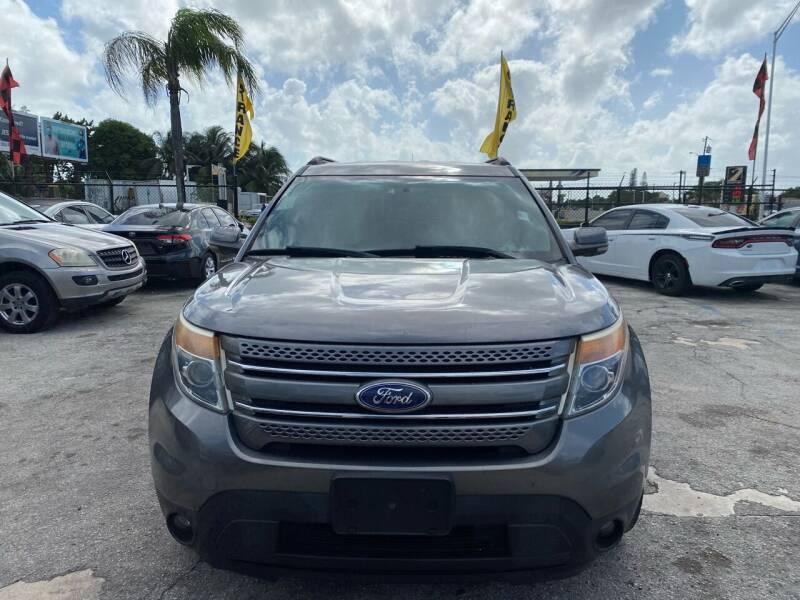 2011 Ford Explorer for sale at America Auto Wholesale Inc in Miami FL
