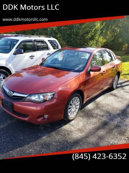 2010 Subaru Impreza for sale at DDK Motors LLC in Rock Hill NY