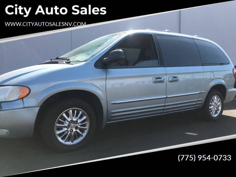 2003 Chrysler Town and Country for sale at City Auto Sales in Sparks NV