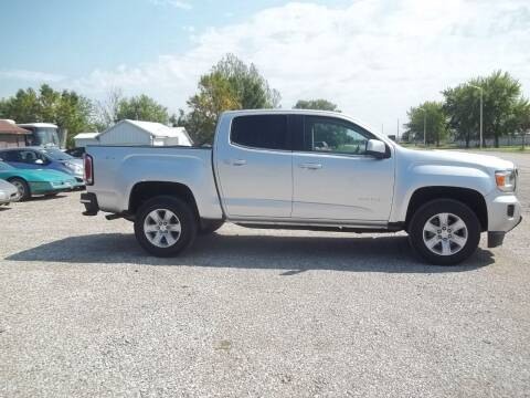 2016 GMC Canyon for sale at BRETT SPAULDING SALES in Onawa IA